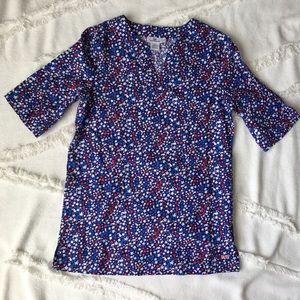 NWT Vineyard Vines Stars & Whales Tunic Top - M